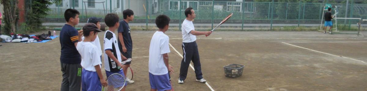 ソフトテニス教室 中学生・高校生の気晴らしとして開催中!