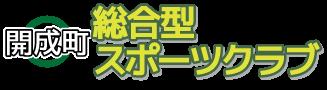 開成町総合型地域スポーツクラブ